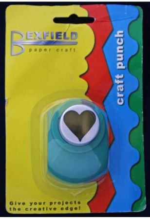 Pointed Heart Craft Punch